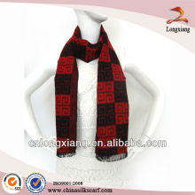 2013 Hot Sale Winter Red Viscose Scarf