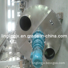 Double Auger Feed Granule Shaped Mixer