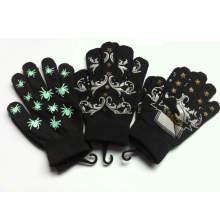 Персонализированные трикотажные акриловые теплые печатные перчатки / рукавицы