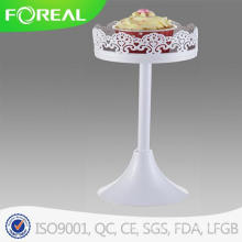 Decoração Metal Cupcake Stand com Flower Edge