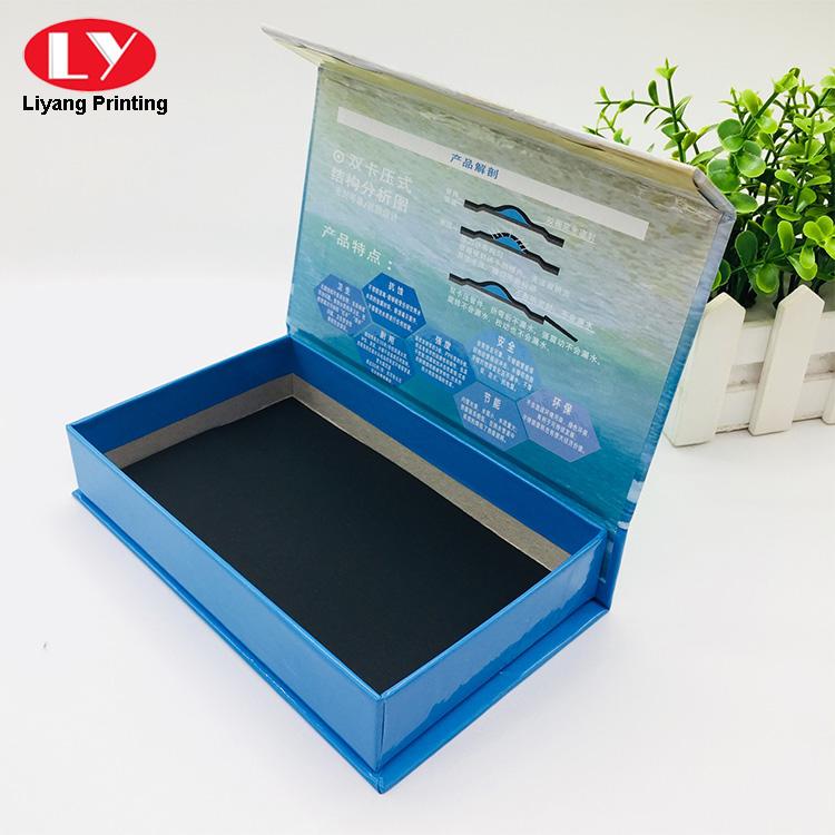 Book Shape Magnetic Box