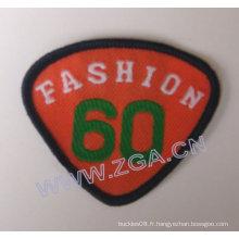 Emblème de manche, étiquette tissée, patch broderie, garnitures, accessoires de vêtement