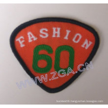 sleeve emblem,woven label, embroidery patch, trims , garment accessories