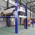 n двухэтажный электрический гидравлический подъемник для гаража