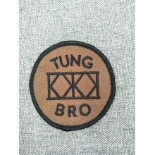 Пользовательские мода логотип плоские тканые школе вышивка патч для одежды