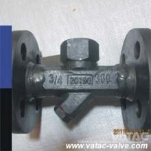 Armadilha de vapor termodinâmica de aço inoxidável Ss304 / Ss316 / Ss304L / Ss316L