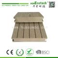 Material de decks de plataforma de plástico composto de madeira