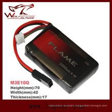 Flame 1000mAh 9.9V15c LiFePO4 LFP Plus Battery
