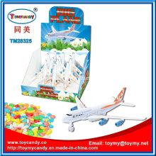 Juguete plástico barato al por mayor del vehículo del juguete nuevo con el caramelo