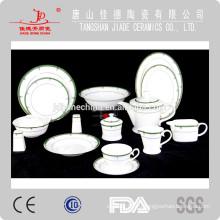 Новый прибыть тонкой кости фарфора обед набор костей фарфора посуда, сделанные в Китае чайный сервиз