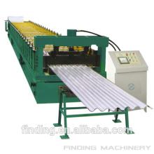 Alta calidad corrugado hoja de acero que forma la máquina con estándar del CE