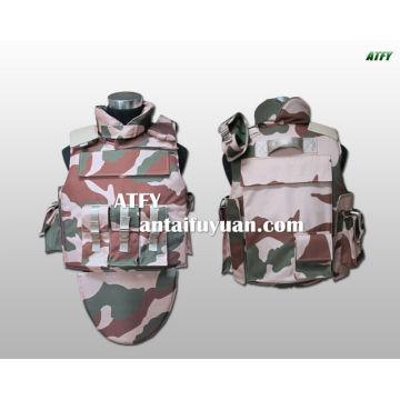 Chaleco antibalas policial y militar