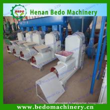 Machine de briquette de biomasse de paille de blé et machine de briquette d'épi de maïs