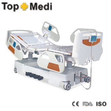 Heißes Verkaufs-Krankenhaus Enectric Bett mit Puder-Beschichtung Stahlrahmen