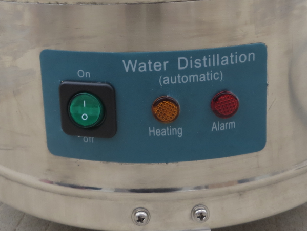 Industrial water distiller