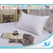 100%White Duck Down Hotel Pillow Cotton Pillow Insert