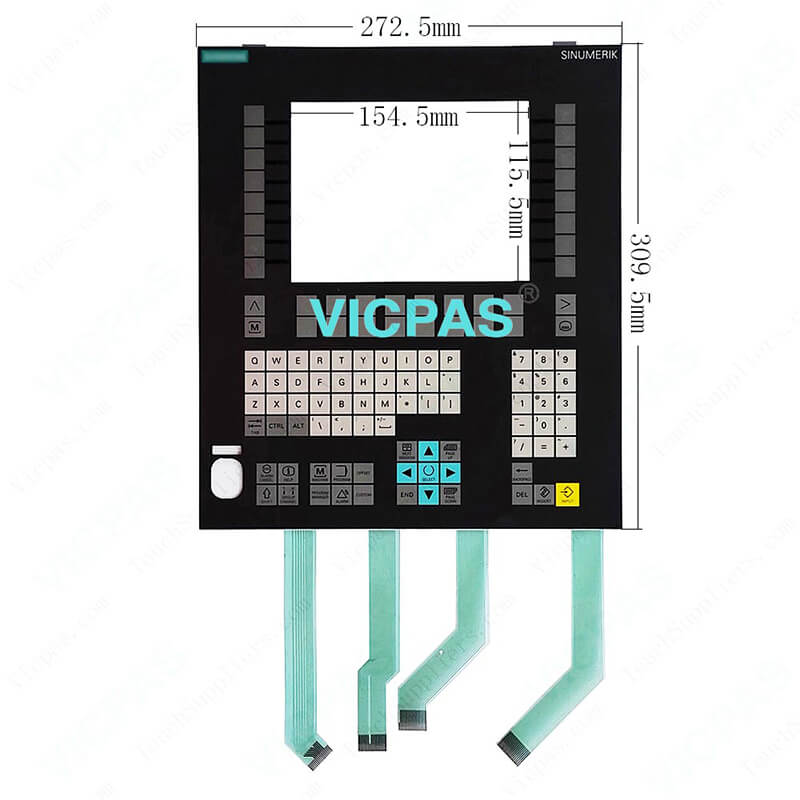 SINUMERIK operator panel OP 08T keyboard membrane