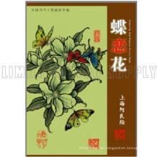 Die Fanshionable attraktive Tattoo Schönheit Blume und Schmetterling Buch