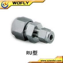 Producto más popular Acero inoxidable Reducing Union, Tubo de compresión