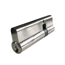 Cylindre de serrure de porte en cuivre double standard