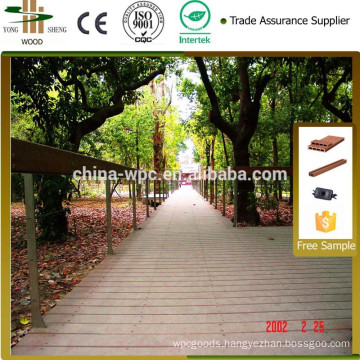 Easy assembled outdoor sports flooring