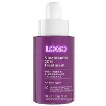 Professional Custom 20% Niacinamide Anti-Aging Treatment Vitamin B3 Concentrated Serum