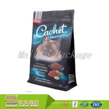El OEM acepta el paquete de empaquetado flexible aprobado por la FDA del animal doméstico del alimento a prueba de humedad de la bolsa de la cremallera con la cerradura de la cremallera
