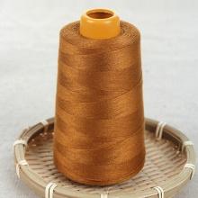 China 100% girado poliéster costura 40/2