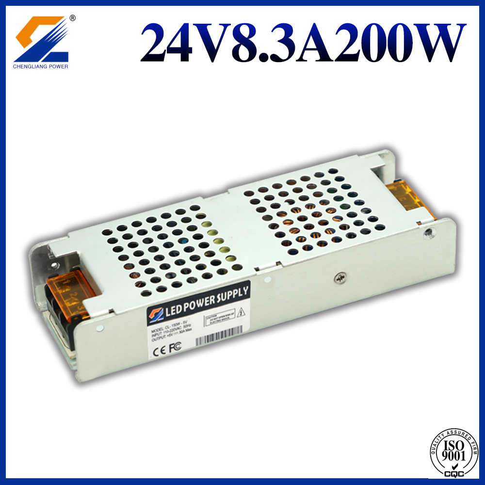 Switching Power Supply 24V 200W for LED Strip