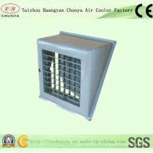 Sortie latérale sur le conduit d'air (diffuseur CY)