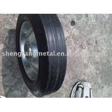 резиновый твердое колесо