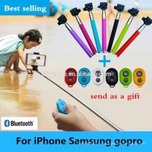 Chine populaire Mini Bluetooth bluetooth monopode selfie stick Z07-5 plus