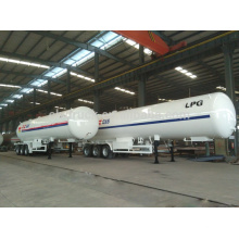 2015 high quality 3 axles cheap semi trailers,China big lpg tank semi trailer factory