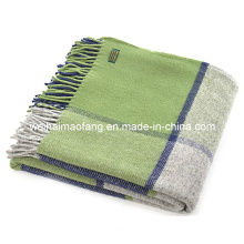 Pure Wool Travel Blanket/Wool Travel Throw