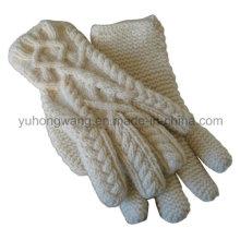 Персонализированные трикотажные акриловые теплые жаккардовые перчатки / рукавицы