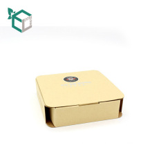 Customized Private Printing M/F Bleached Craft Paper Box