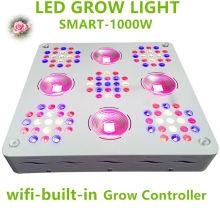O diodo emissor de luz da patente 1000W cresce o espectro completo claro para plantas Veg e flor