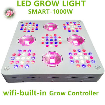 Patent 1000W LED Grow Light Full Spectrum para plantas Veg y Flower