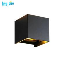 Modern Black Aluminum Outdoor Waterproof  Outdoor Led Wall Lamp