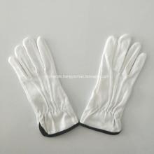 Cotton fabric grip dot palm gloves