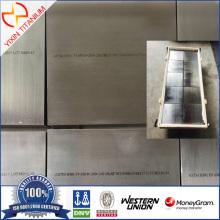 ASTM B381 टाइटेनियम ब्लॉक करें F5 50.8 * 200 * 200 मिमी