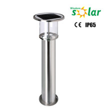 wholesale high lumens CE solar pole light for outdoor garden lighting