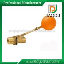 Mini plástico forjado ND15 DN20 1/2 3/4 1 tanque de água pequeno de 2 polegadas nível de água macho NPT rosqueia esfera de bronze válvula de flutuação