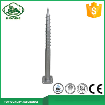 Solar Ground Screw Dengan Flange