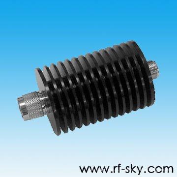 d45 * 104mm Roundness 30W puissance coaxial RF atténuateur
