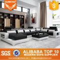 SUMENG 2015 dubai latest top grain leather sofa set designs pictures