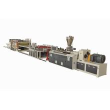 Экструзионная линия для производства плит из ПВХ и ДПК