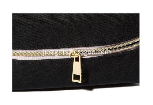 Custom Zippered Canvas Cosmetic Bags Bulk (2)