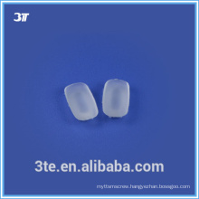 Optical nose pads for plastic frames