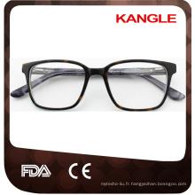 Pas facile de se décolorer et de déformer les montures de lunettes en plastique pour filles